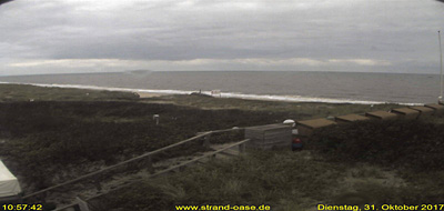 Webcam Strandoase Westerland